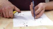 طرح های خلاقانه ای با استفاده از مداد که تاکنون ندیده
