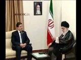 دیدار نخست وزیر سوریه با مقام معظم رهبری