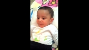 بچه 6 ماهه (خنده دار)