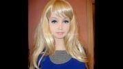 دختری که مدعی است بدون جراحی زیبایی عروسک است...!