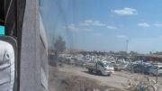 اتوبوس سوخته زائران ایرانی(خودم فیلم گرفتم)