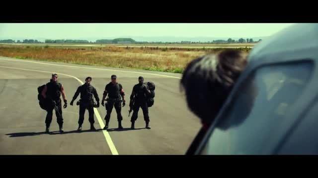 تریلر انگلیسی فیلم The Expendables