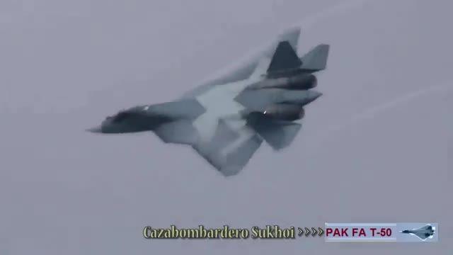 جنگنده جدید سوخوی روسیه