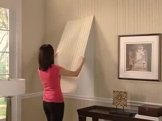 آموزش نصب کاغذ دیواری های ساده