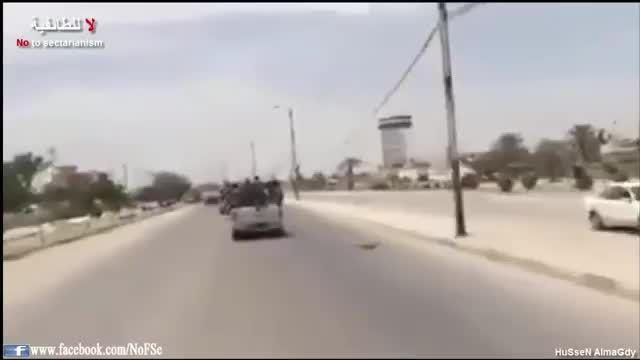 ورود نیروهای مردمی به خالدیه در الانبار بعد فرار داعش