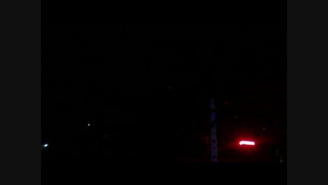 شیء نورانی در آسمان مازندران - آمل