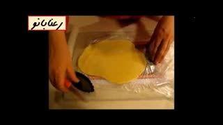رعنابانو : قالب زدن خمیر تارت برای قالب های مختلف