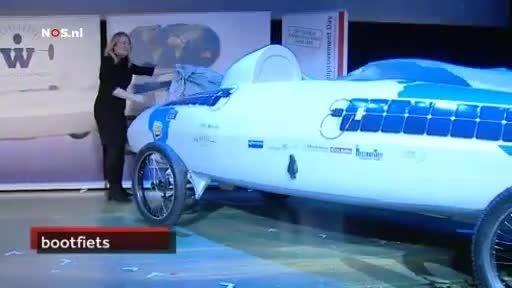 افتتاح پروژه قایق چرخ با حضور  وزیر راه و ترابری هلند