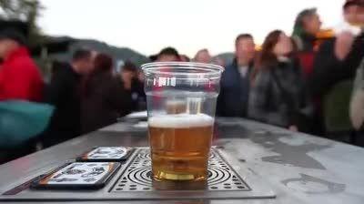لیوان های یکبار مصرف جدید دو طرفه