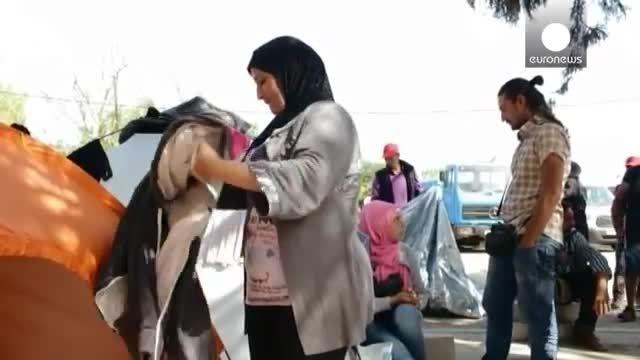 انبوه پناهجویان در کرواسی گرفتار مانده اند