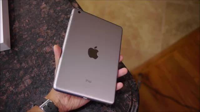 بازگشایی جعبه و Overview تبلت iPad Mini 3