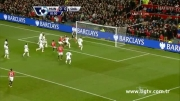 منچستر یونایتد 2 - 0 سوانسی / هفته 21