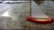 قایق بادبانی چوبی
