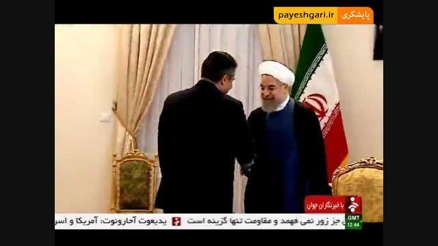 گزارش با موضوع سفر هیات های سیاسی و اقتصادی به تهران