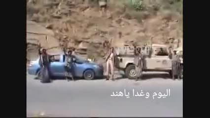 خودرو و سلاح های سعودی در قبضه نیروهای انصارالله یمن