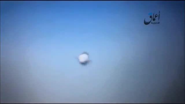 لحظه سقوط هواپیمای روسی در مصر