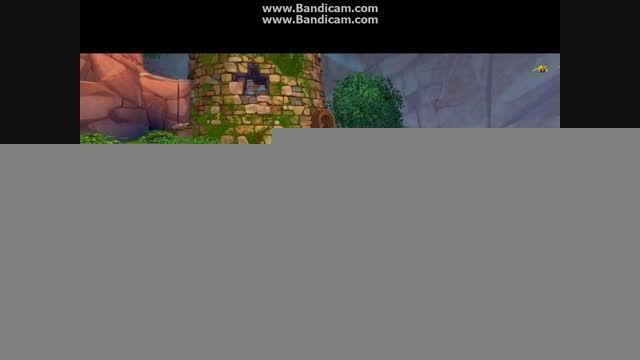 برج راپونزل در بازیه دیزنی پرنسس☺