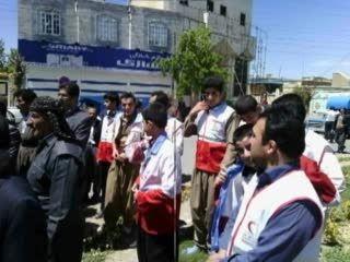 برنامه های اجرایی هلال احمر دهگلان در هفته هلال احمر94
