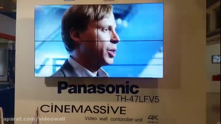 ویدئو وال 4K در نمایشگاه ایپاس تهران