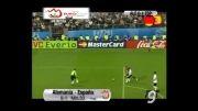 گل سرنوشت ساز فرناندو تورس در فینال یورو 2008 مقابل آلمان