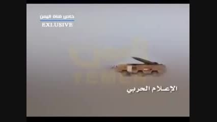 لحظه حمله موشکی حوثی به امارات