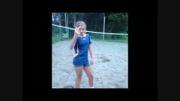 ضایع شدن دختر والیبالیست$محمود تبار