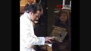 پیانو زدن بسیار زیبای بازیگر سینمای ایران