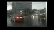 تصادف رانندگی عجیب/ جادوگری در رانندگی!