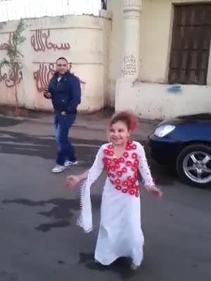 دختر بچه بانمک