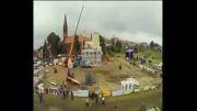 ساخت 1 روزه کلیسا در لهستان