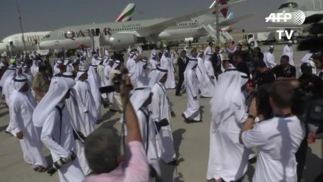 نمایشگاه هوایی دبی به امید فروش بهتر در بازار