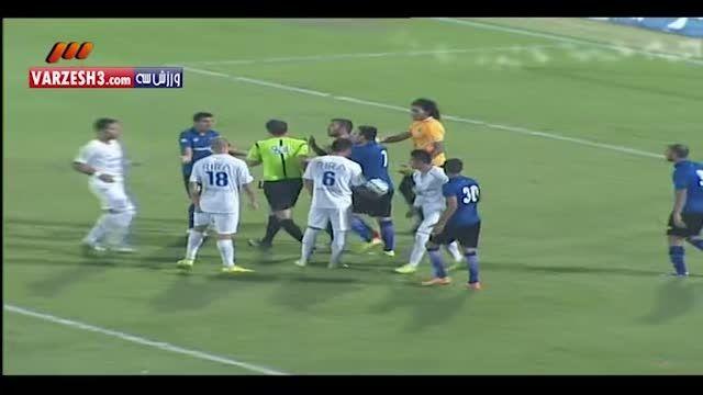 بازی استقلال تهران و استقلال اهواز 30 مرداد 94