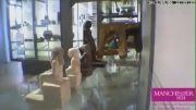 حرکت خودبخودی و شگفت انگیز مجسمه فرعون در موزه منچستر