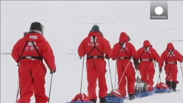 نخستین مسابقه راگبی در قطب شمال