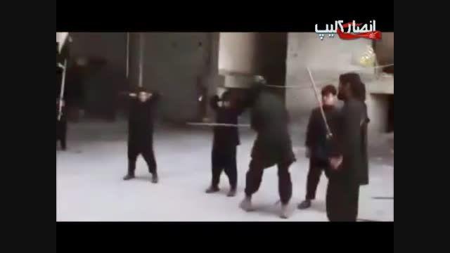 آموزش  سخت کودکان  داعشی برای مبارزه