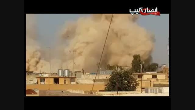 تخریب مرقد حضرت یونس(ع) توسط داعش در موصل