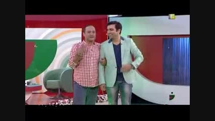 جناب خان و امین زندگانی و الیکا عبدالرزاقی - خندوانه