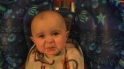 گریه نوزاد10 ماهه با مزه و عجیب(بسیار HOT)