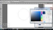 آموزش ساخت دکمه گرافیکی در فتوشاپ
