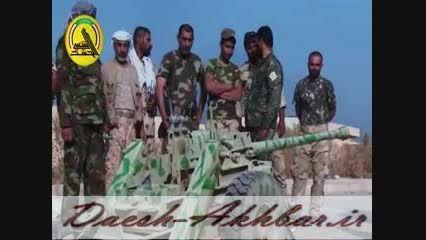 فیلم تصرف انبار تسلیحاتی داعش در بیجی