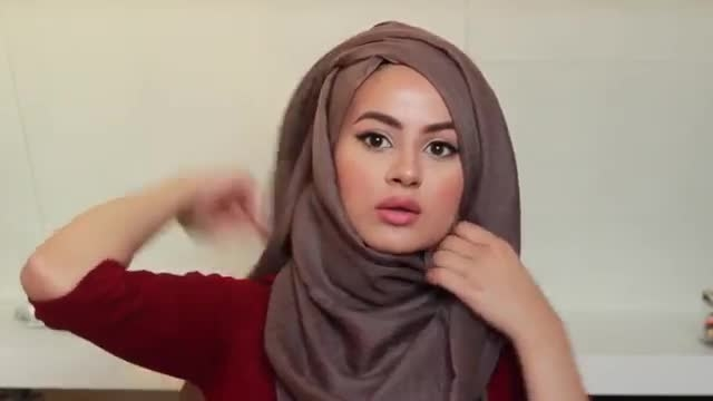 مدل های ساده برای حجاب کردن