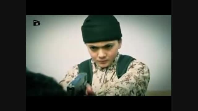 نوجوان 10 ساله داعشی همرزم خود را اعدام کرد