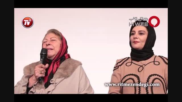 ثریا قاسمی و هنگامه قاضیانی در کاخ جشنواره