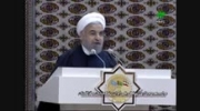 سخنان رئیس جمهور در افتتاح راه آهن ایران - ترکمنستان