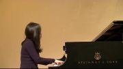 نواختن پیانو (بسیار زیبا)