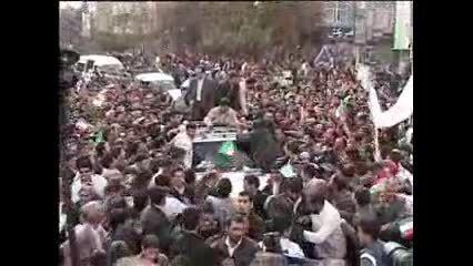 استقبال یعنی این دکتر احمدی نژاد