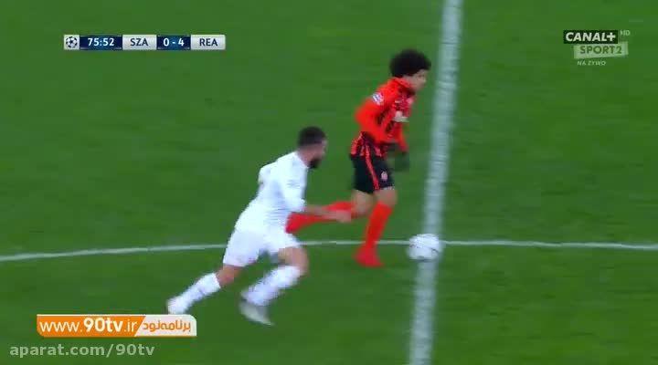 خلاصه بازی: شاختار ۳-۴ رئال مادرید (درخشش رونالدو)