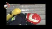 مانور امداد و نجات  سازمان آتش نشانی و خدمات ایمنی شهرداری ک