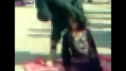 جلاد داعش زن را با دست خفه کرد + فیلم