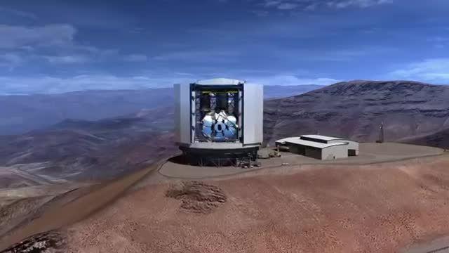 ساخت یکی از بزرگترین تلسکوپ های جهان آغاز شد